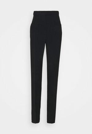 SIDE STRIPE TROUSER - Spodnie materiałowe - nero