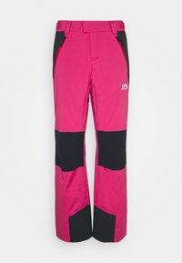 WOMENS INSULATED - Ski- & snowboardbukser - rubine red