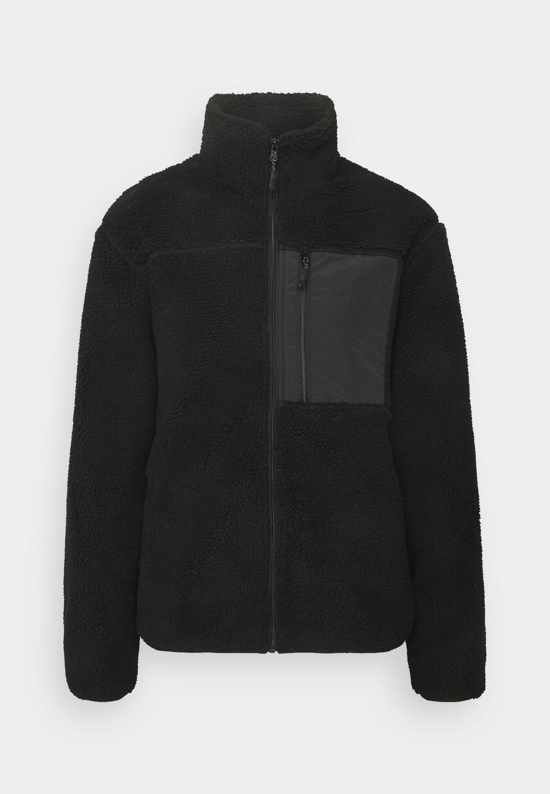 Men UNISEX POCKET TEDDY ZIP THROUGH - Winter jacket