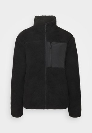 POCKET ZIP THROUGH - Winter jacket - black