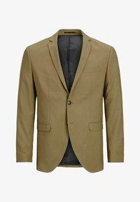 dark coat khaki