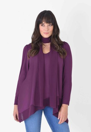 HANKY  LAYERED  - Tunic - purple