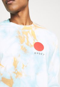 Edwin - JAPANESE SUN - Maglietta a manica lunga - blue/cantaloupe - 5