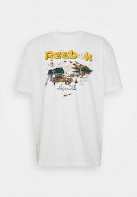 Reebok Classic - TEE SOUTH - T-shirt imprimé - chalk - 0