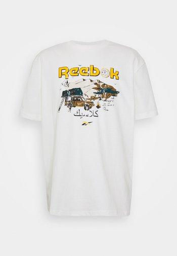 TEE SOUTH - T-shirt med print - chalk