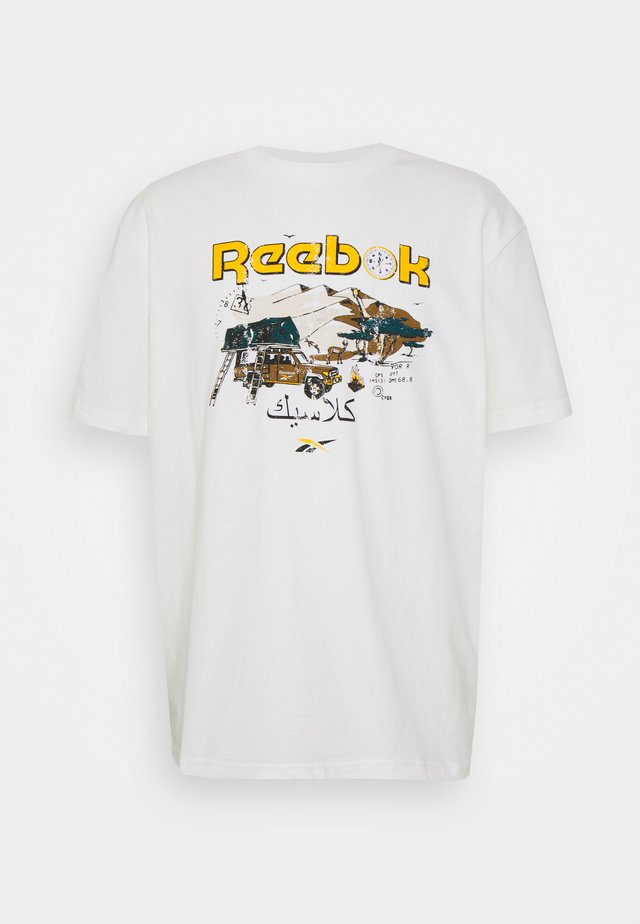 TEE SOUTH - T-shirt z nadrukiem - chalk