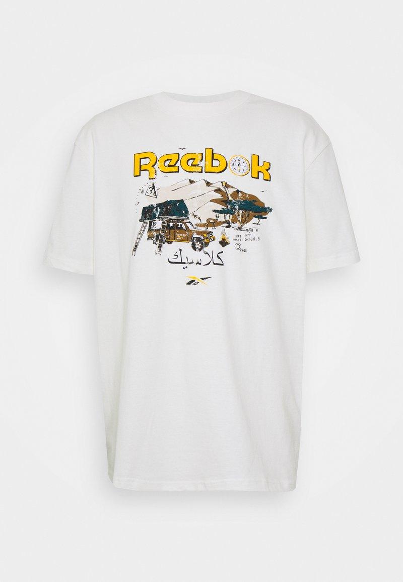 Reebok Classic - TEE SOUTH - T-shirt imprimé - chalk