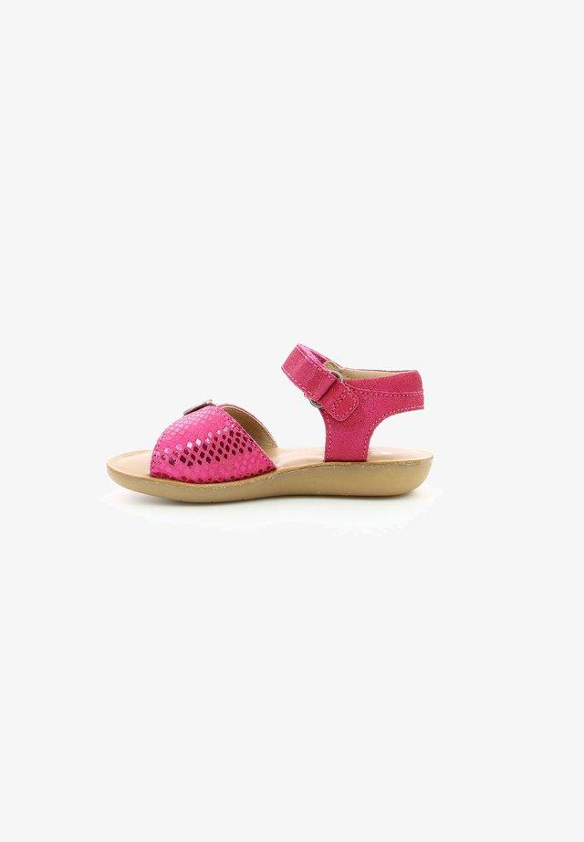 THEANI - Chaussures premiers pas - fuschia