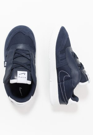 SQUASH TYPE - Sneakers basse - obsidian/midnight navy/white