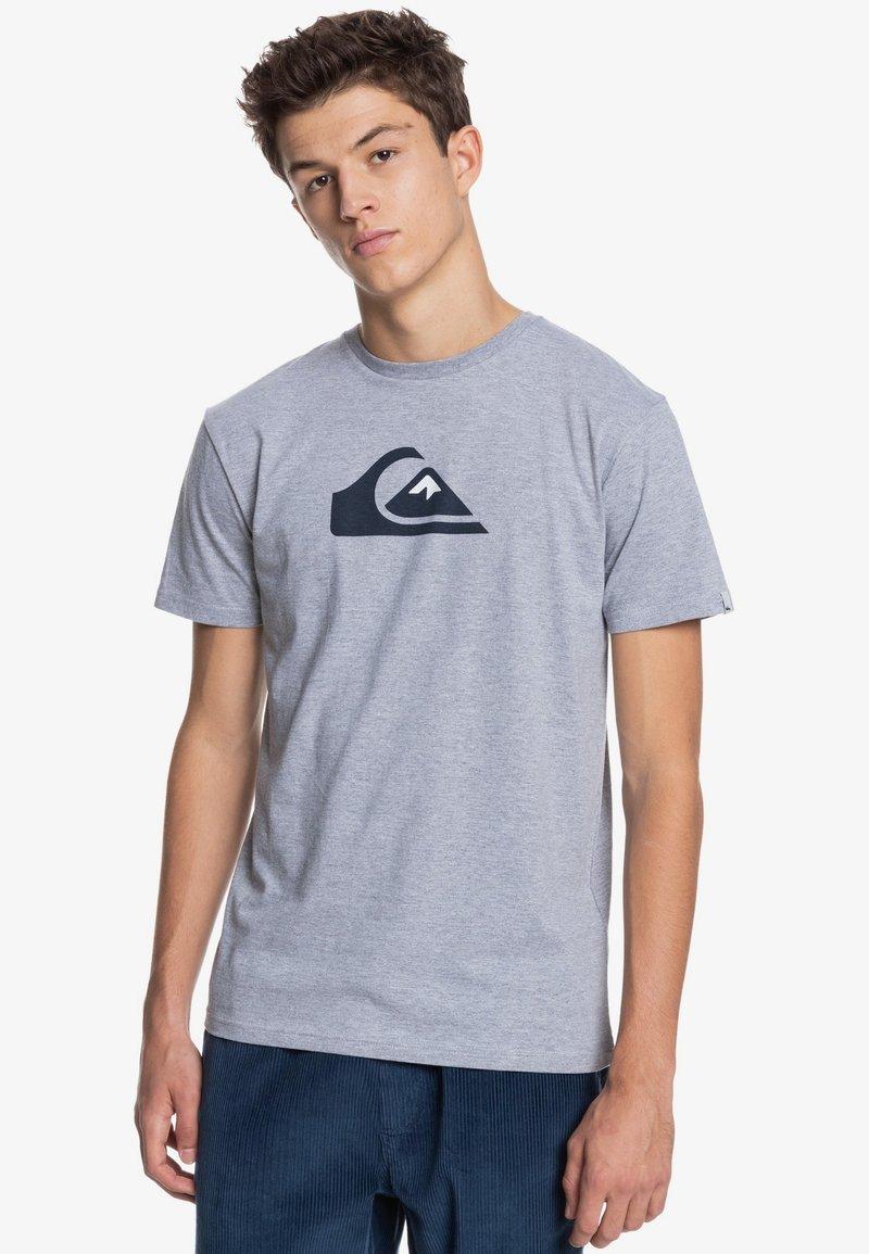 Quiksilver - COMP LOGO  - Print T-shirt - athletic heather