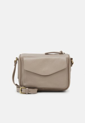 LEATHER - Torba na ramię - taupe
