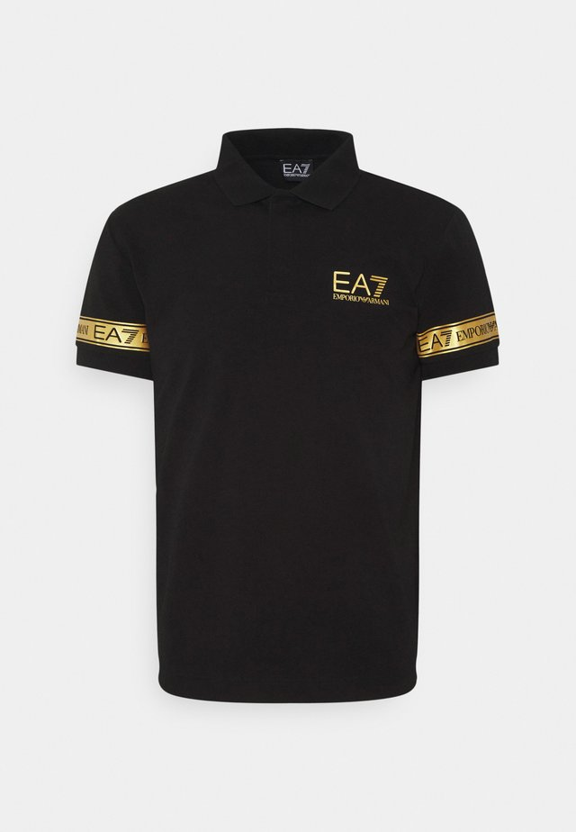 Poloshirt - black gold