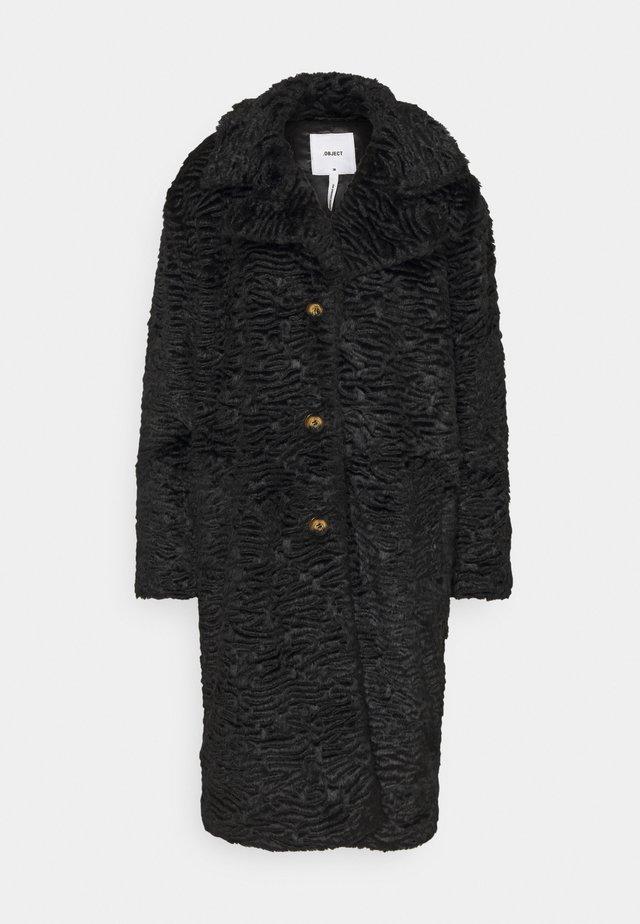 OBJCHARLOTT COAT  - Frakker / klassisk frakker - black