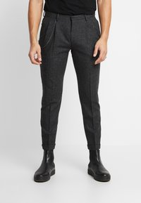Shelby & Sons - SIDCUP TROUSER - Pantaloni - charcoal - 0