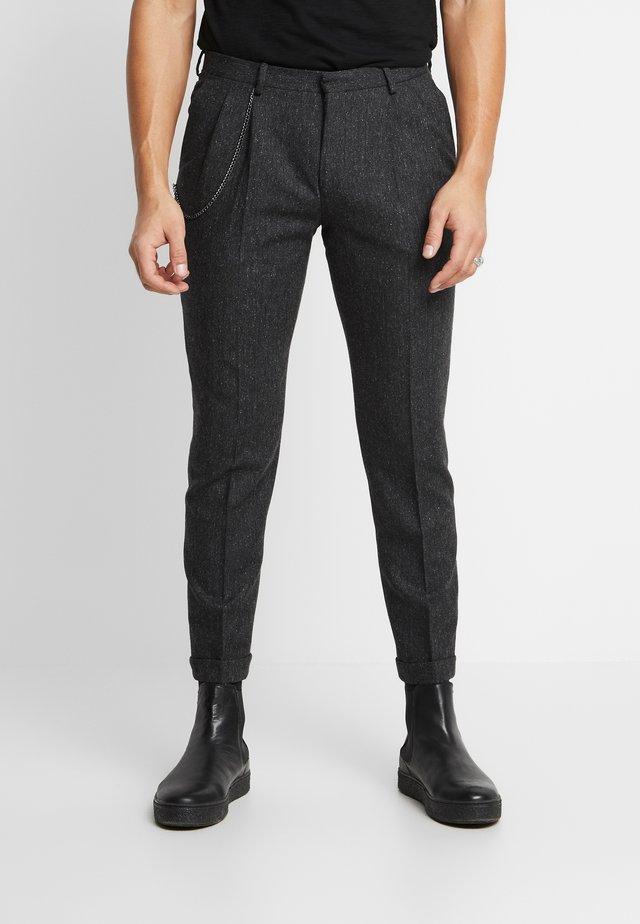 SIDCUP TROUSER - Spodnie materiałowe - charcoal