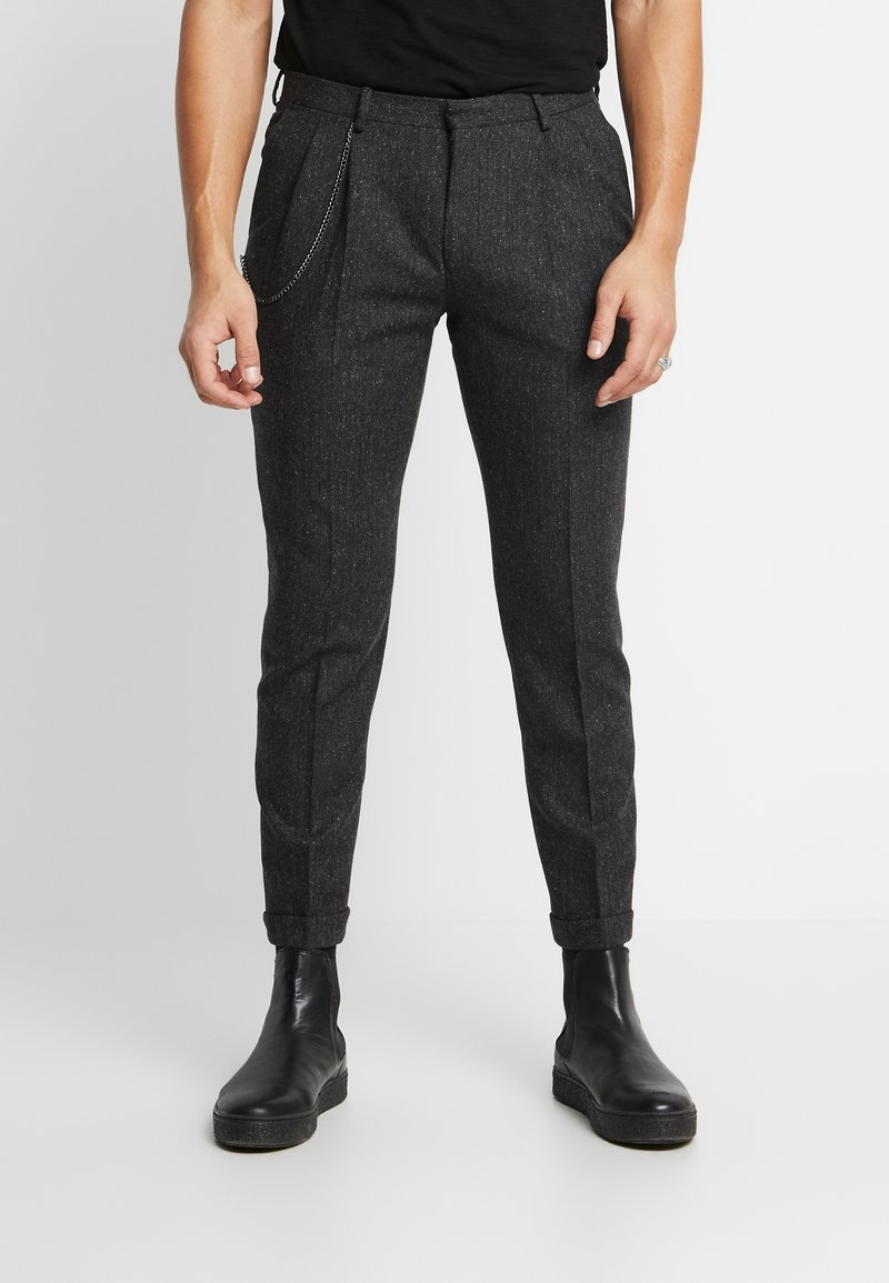 Shelby & Sons - SIDCUP TROUSER - Pantaloni - charcoal