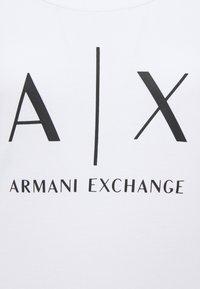 Armani Exchange - Long sleeved top - optic white - 2