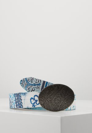 BELT NAMASKARA REVERSIBLE - Belt - gris blue