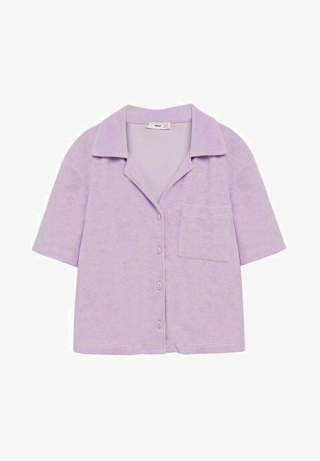 Pyžamový top - lila