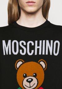 MOSCHINO - Jumper - fantasy print black - 4
