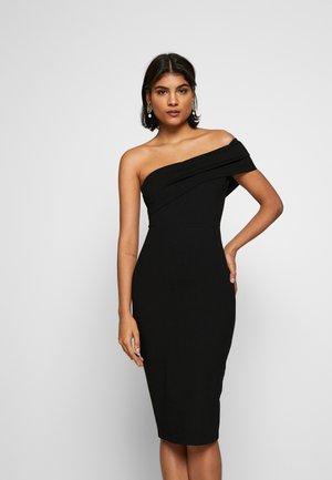 JUST MAYBE DRESS - Etui-jurk - black