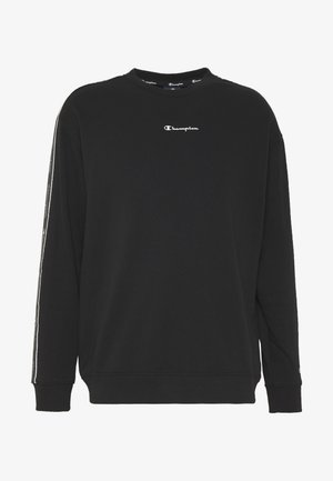 TAPE CREWNECK - Bluza - black