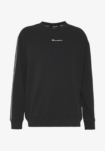 TAPE CREWNECK - Sweatshirt - black