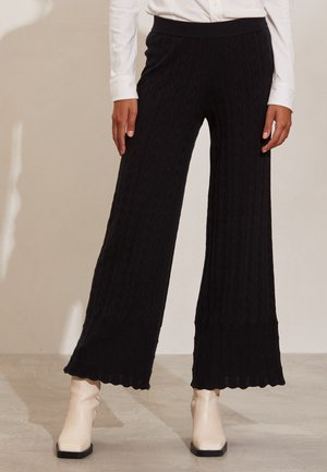 KALLIE - Trousers - almost black