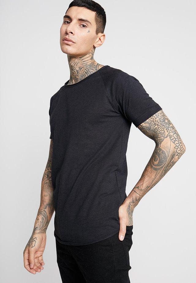 KAS TEE - Basic T-shirt - black