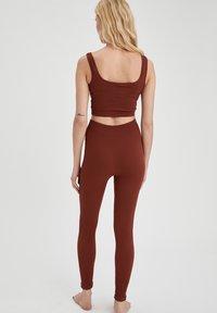 DeFacto - Leggings - Trousers - brown - 2
