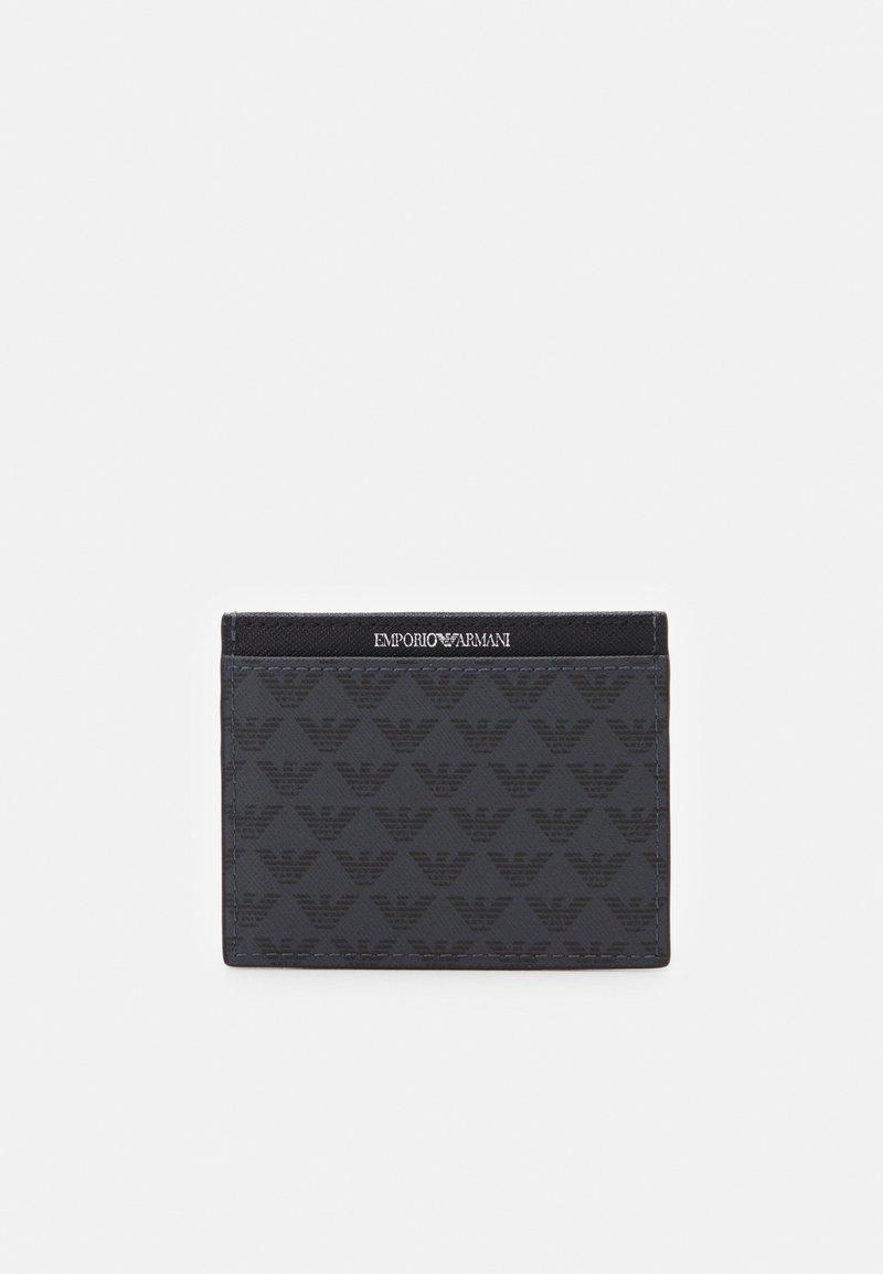 Emporio Armani - CARD HOLDER UNISEX - Wallet - black