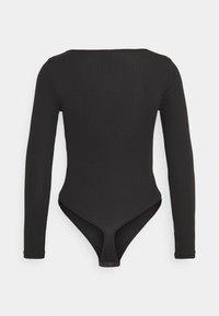 Pieces Petite - PCMANIKA BODYSTOCKING PETITE  - Long sleeved top - black - 1