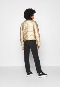Roxy - CROSS STEPPING - Winter jacket - gold - 2
