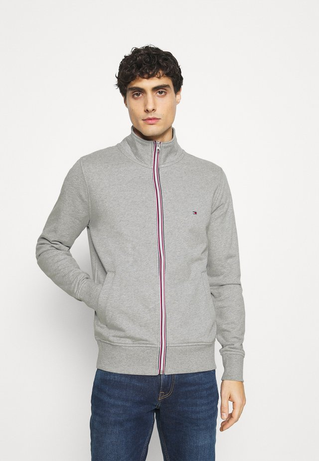 CORE ZIP THROUGH - veste en sweat zippée - grey