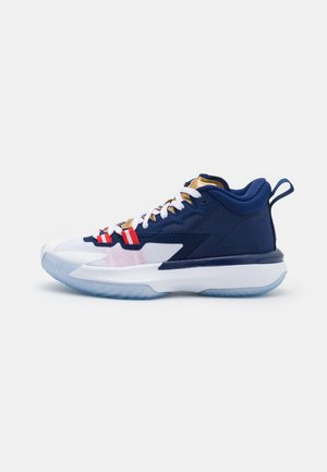 ZION 1 UNISEX - Basketbalové boty - blue void/university red/white/metallic gold