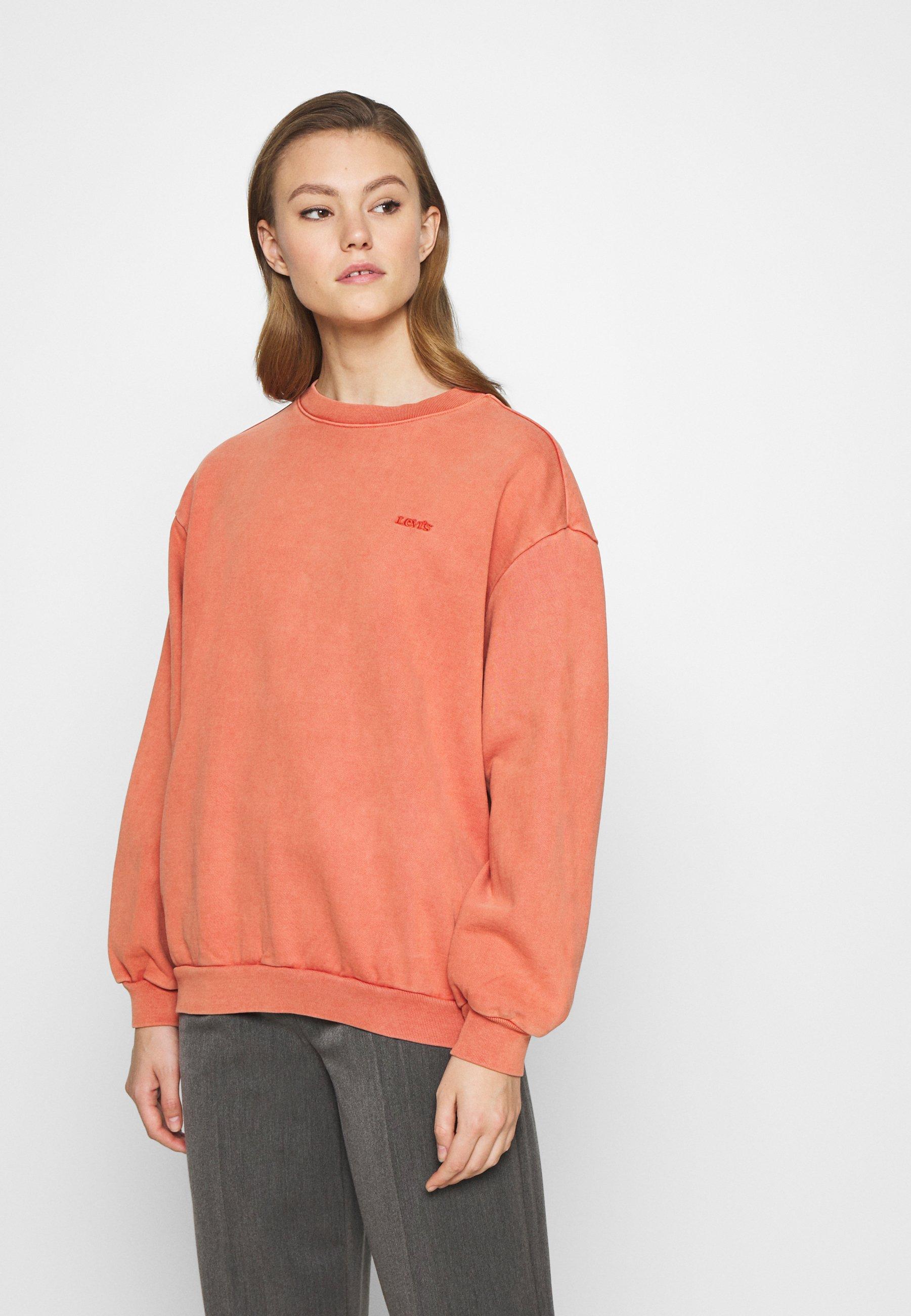 Women MELROSE SLOUCHY CREW - Sweatshirt - aragon