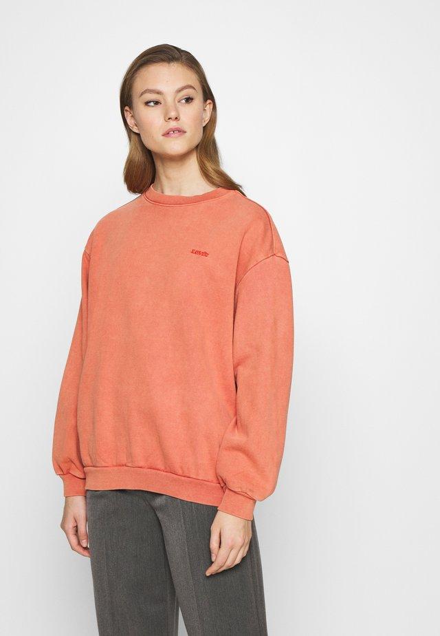 MELROSE SLOUCHY CREW - Sweatshirt - aragon