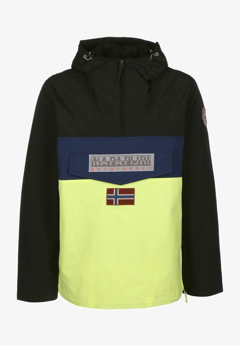 Napapijri - RAINFOREST SUMMER BLOCK - Windbreaker - sunny yellow