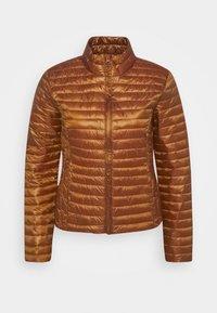 JDYNEWMADDY PADDED JACKET - Lehká bunda - leather brown