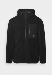Superdry - ALPINE MID LAYER - Fleecejacka - black - 4