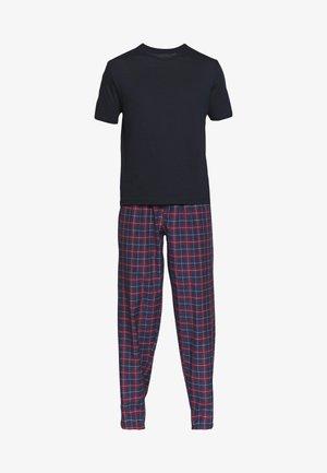 SET - Pyžamo - bordeaux