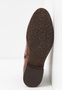 Caprice - Lace-up ankle boots - cognac - 6