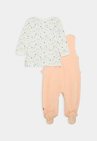 Jacky Baby - WOODLAND SET - Overal - altrosa/off white - 1