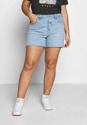 PL 501® ORIGINAL SHORT - Shorts di jeans - light-blue denim