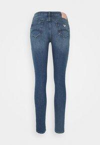 Emporio Armani - FIVE POCKETS PANT - Jeans Skinny Fit - denim blue - 1