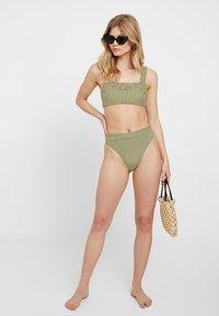 Seafolly - TANK - Bikini top - lime light - 1