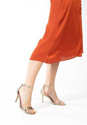 CELIA - High heeled sandals - gold