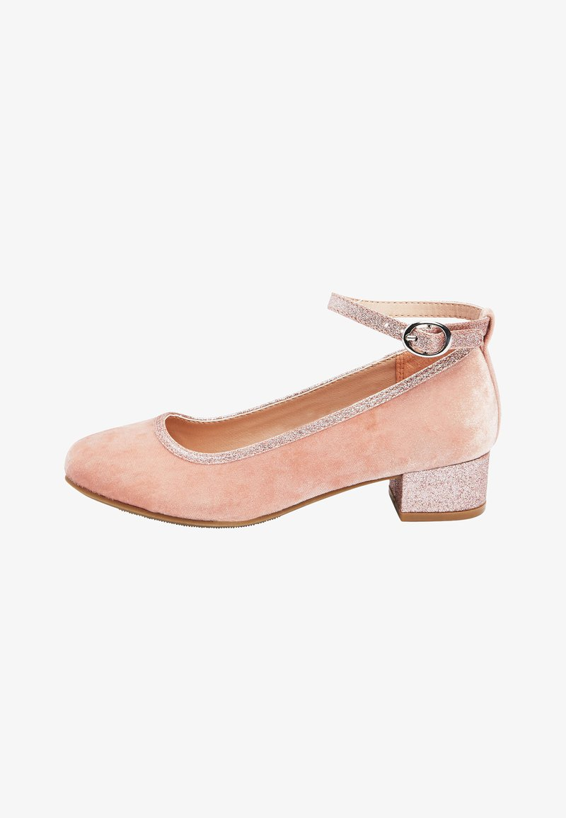 Next - MARY JANE HEELS (OLDER) - Ankle strap ballet pumps - pink