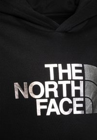 The North Face - DREW PEAK HOODIE UNISEX - Hoodie - black/silver