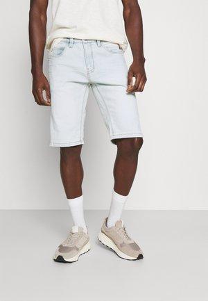 KADEN - Denim shorts - bleach
